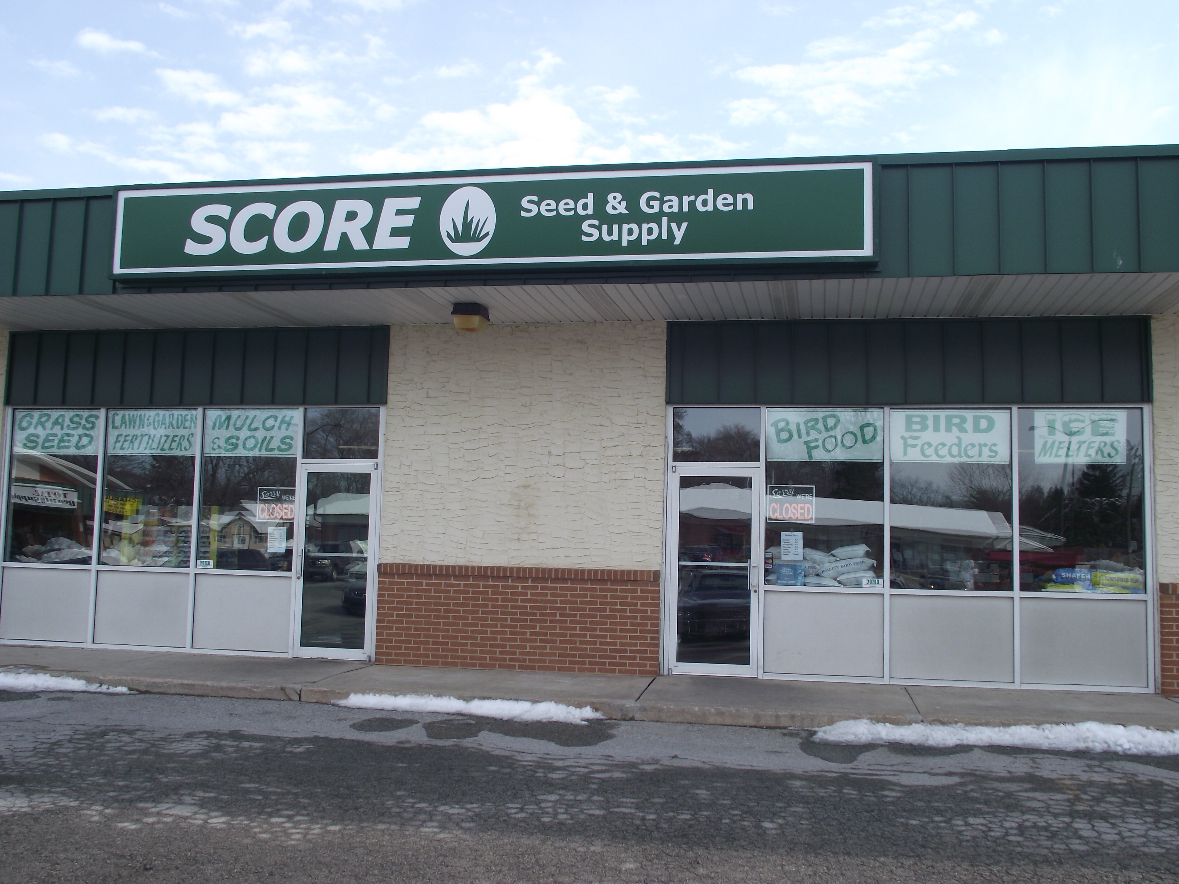 Go Green With Score Seed And Garden Supply Home